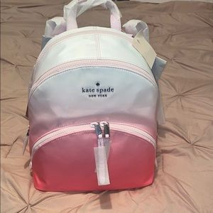 Karissa nylon medium ombré backpack